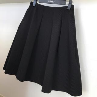 エムプルミエ(M-premier)のエムプルミエBLACK スカート 36(ひざ丈スカート)