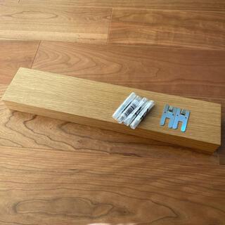 ムジルシリョウヒン(MUJI (無印良品))の無印良品 壁に付けられる家具(金具・ピン付き)(棚/ラック/タンス)