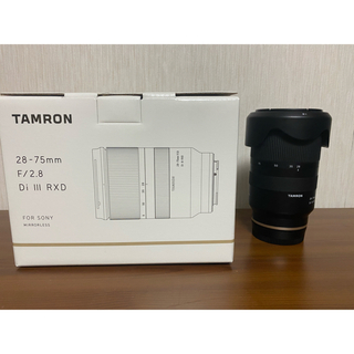 TAMRON - tamron 28-75mm f2.8 sony eマウント対応
