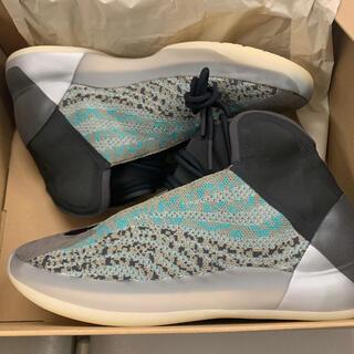 アディダス(adidas)のadidas yeezy QNTM Teal Blue 28.5センチ(スニーカー)