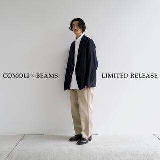 COMOLI - comoli beams 別注 ブレザー チノパン セットアップ サイズ2