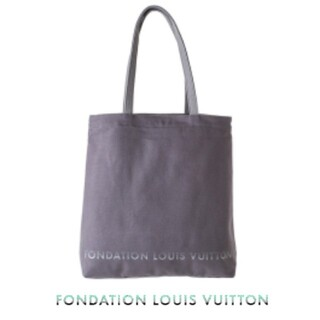 LOUIS VUITTON - 【新品】入手困難 パリ限定 ルイヴィトン美術館 トートバッグ グレー