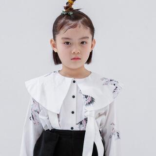 コドモビームス(こども ビームス)の【美品】folkmade afghan hound blouse white F(ブラウス)