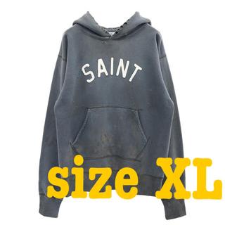 LADY MADE - size XL saint michael HOODIE FELT