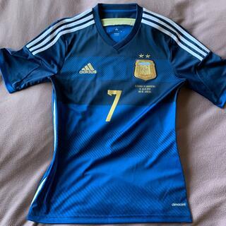 adidas - アルゼンチン代表 2ndユニフォーム Sサイズ #7ディマリア