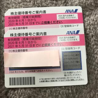 たくく様専用  ANA 株主優待券2枚➕ANA各種優待券(その他)