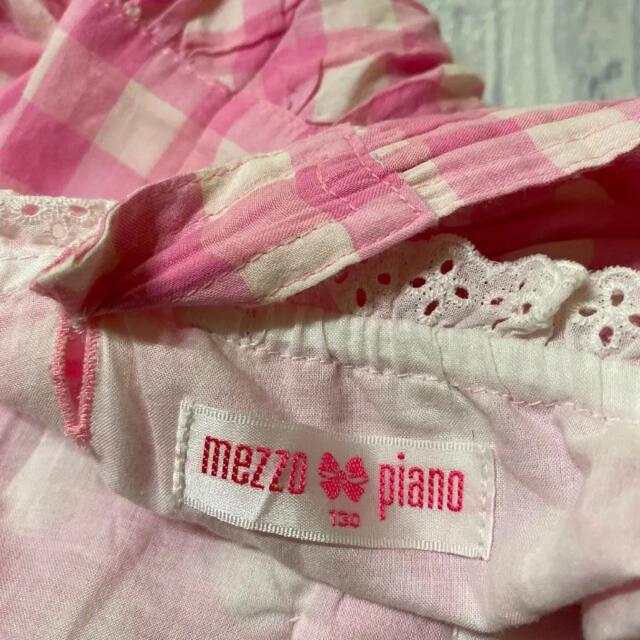 mezzo piano(メゾピアノ)のメゾピアノ  ワンピース 130 キッズ/ベビー/マタニティのキッズ服女の子用(90cm~)(ワンピース)の商品写真
