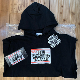 GDC - WY BEP PRIORITY LABEL パーカー wasted youth