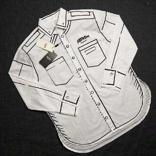 FENDI - 送料無料!FENDIフェンディ シャツ メンズ L タグ付き 正規品