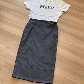 MADISONBLUE - MADISONBLUE  バックサテンロングタイトスカート SOFIE  01
