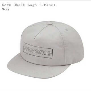 Supreme - Supreme KAWS Chalk Logo 5-Panel