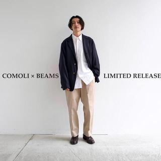 COMOLI - 21SS comoli×BEAMS別注 ブレザー ジャケット サイズ2 新品