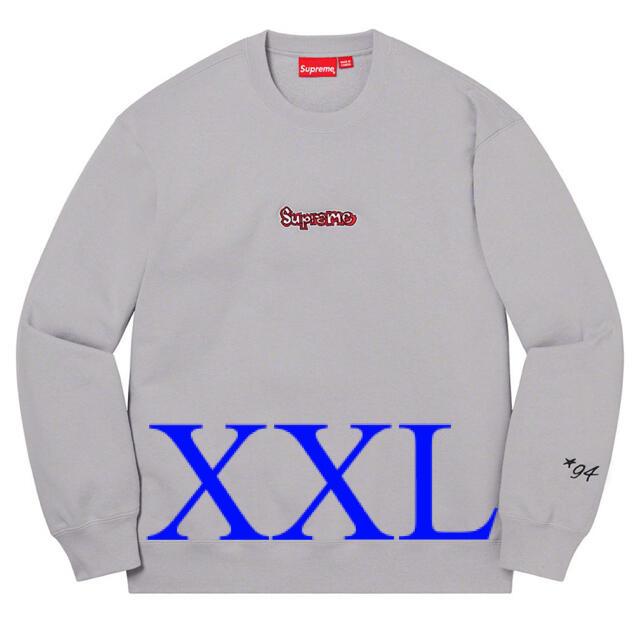 Supreme(シュプリーム)の【XXL】Supreme Gonz Logo Crewneck Grey   メンズのトップス(スウェット)の商品写真