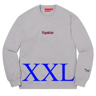 Supreme - 【XXL】Supreme Gonz Logo Crewneck Grey