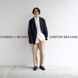 COMOLI - 21SS comoli×BEAMS別注 チノパンツ サイズ2 新品タグ付
