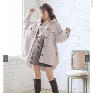 GRL - GRL オーバーサイズフェイクウールジャケット