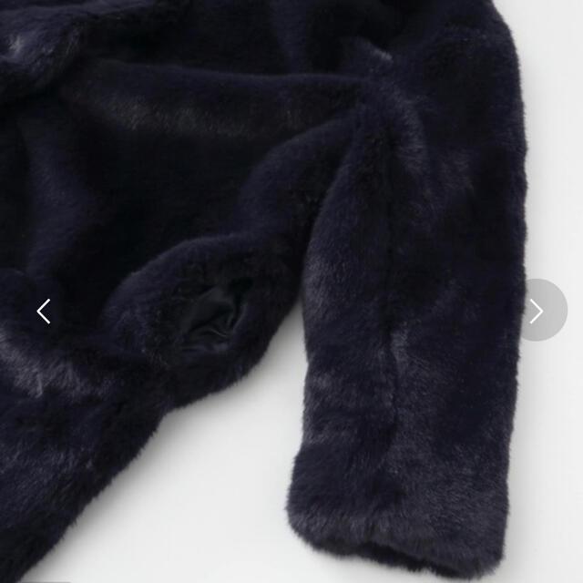 URBAN RESEARCH(アーバンリサーチ)の新品 URBAN RESEARCH ファーコート レディースのジャケット/アウター(毛皮/ファーコート)の商品写真