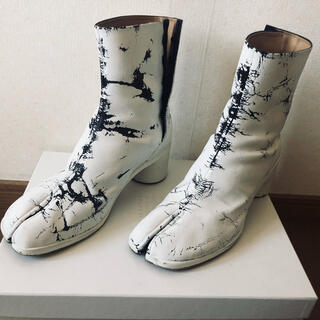 Maison Martin Margiela - Maison margiela ペンキ足袋ブーツ 新品未使用 定価170000円