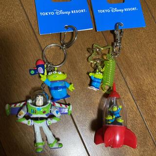 Disney - トイストーリー キーホルダー 2コセット