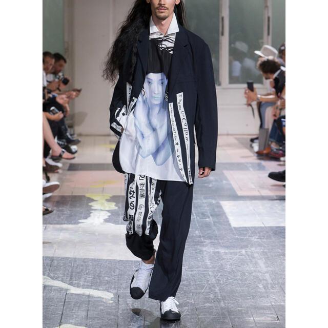 Yohji Yamamoto(ヨウジヤマモト)のyohji yamamoto 18ss 着る服ないの セットアップ メンズのスーツ(セットアップ)の商品写真