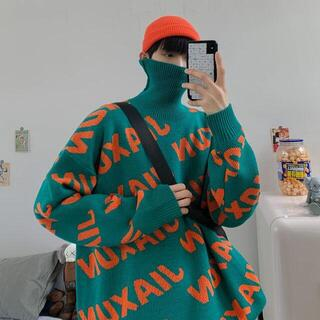 【新品未使用】タートルネックセーター ニット 韓国