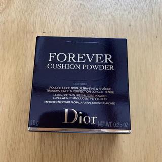 ディオール(Dior)のdior スキンフォーエバークッションパウダー ラベンダー(フェイスパウダー)