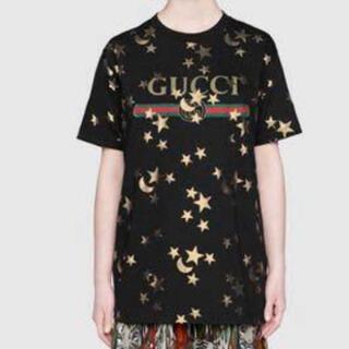 Gucci - GUCCI 超美品 星柄 Tシャツ シェリーライン