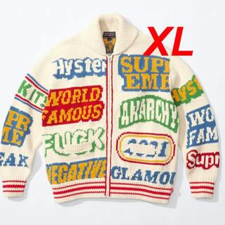 Supreme - Supreme HYSTERIC Logos Zip Up Sweater XL