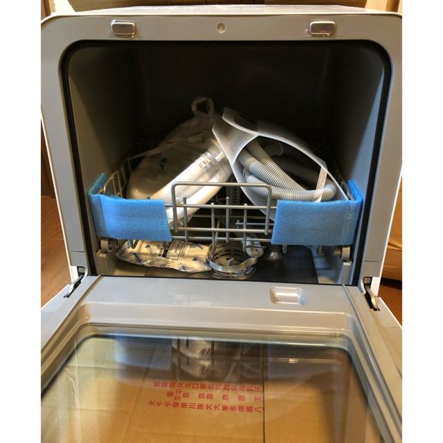 シロカ 食器洗い乾燥機 工事不要 SS-M151 スマホ/家電/カメラの生活家電(食器洗い機/乾燥機)の商品写真