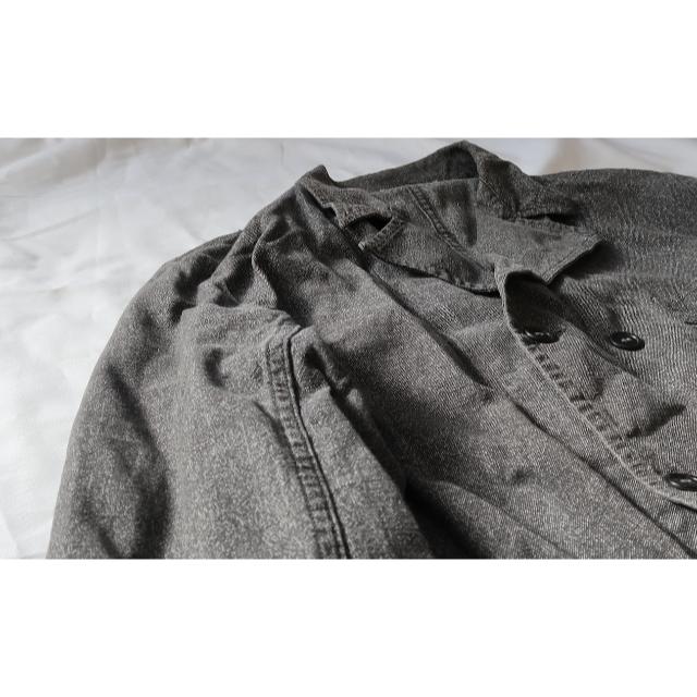 JOURNAL STANDARD(ジャーナルスタンダード)の【珍品】ブラックシャンブレー カバーオール オランダ メンズのジャケット/アウター(カバーオール)の商品写真