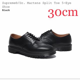 Supreme - US12 Supreme Dr. Martens 5-Eye Shoe ブラック