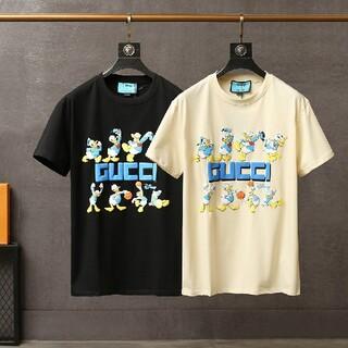 Gucci - 新品 gucci 半袖/Tシャツ 2枚13000円 男女兼用