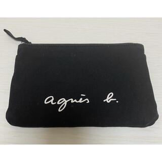 agnes b. - agnes b. アニエスベー ポーチ ブラック 黒