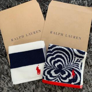 Ralph Lauren - 新品❣️ラルフローレンハンドタオル2枚セット