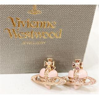 Vivienne Westwood - ヴィヴィアン オーブ ピンクベージュ ピアス 18627441