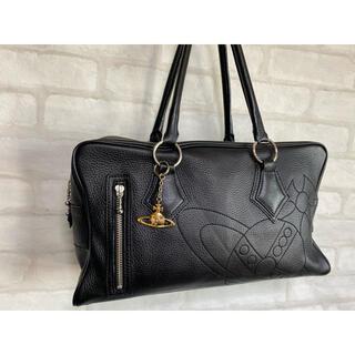 Vivienne Westwood - 美品 ヴィヴィアンウエストウッド レザー ハンドバッグ 大容量 オーブ柄