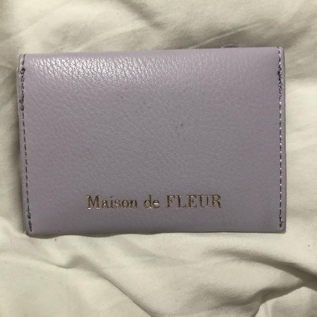 Maison de FLEUR(メゾンドフルール)のMaison de FLEUR メゾンドフルール カードケース 定期 名刺入れ レディースのファッション小物(名刺入れ/定期入れ)の商品写真