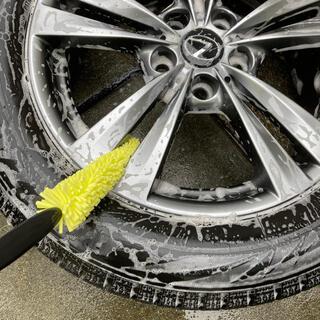 ホイール 洗車 ブラシ ピカピカに!