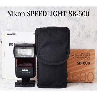 Nikon - ニコン純正●スピードライト●フラッシュ●ニコン SB-600