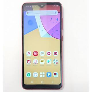 Galaxy - 9301 ドコモ スマートフォン Galaxy A21 SC-42A レッド