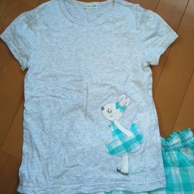 KP(ニットプランナー)のkp mimiちゃん ギンガムセット サイズ130 キッズ/ベビー/マタニティのキッズ服女の子用(90cm~)(その他)の商品写真