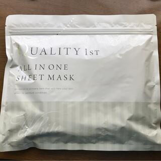 クオリティファースト(QUALITY FIRST)のクオリティファースト オールインワン シートマスク ホワイト(パック/フェイスマスク)