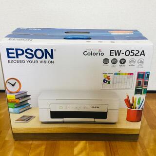 エプソン(EPSON)のエプソン カラリオ・プリンター EW-052A(その他)
