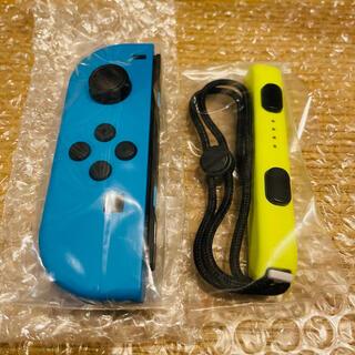 ニンテンドースイッチ(Nintendo Switch)の新品 Nintendo Switch スイッチ ジョイコン & ストラップ(家庭用ゲーム機本体)