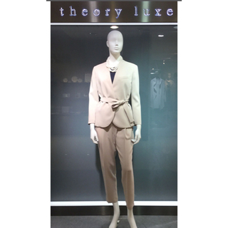 Theory luxe - theory luxe パンツスーツ 36 34 ベージュ