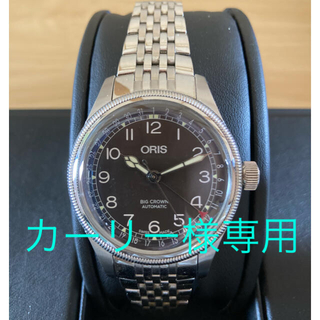 オリス(ORIS)のオリス ビッグクラウン 36 ポインターデイト ORIS BIGCROWN 36(腕時計(アナログ))