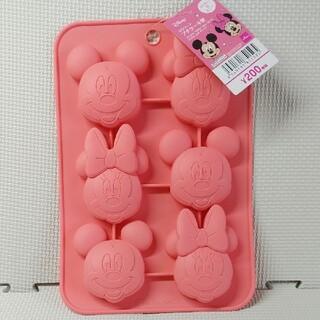 ディズニー(Disney)のシリコーン プチケーキ型 ディズニー ミッキー&ミニー(調理道具/製菓道具)