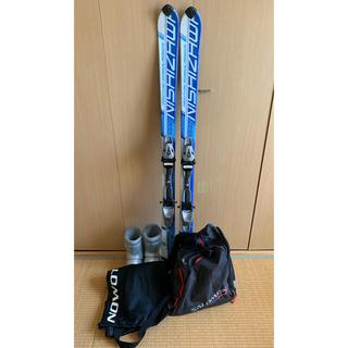 【週末発送】スキーセット スキー板140cm、ブーツ25cm(板)