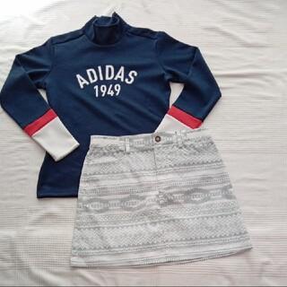 adidas - 新品 adidas ゴルフ スカート モックシャツ Mサイズセット ストレッチ