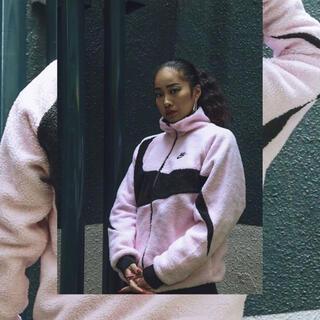 NIKE - NIKE ボアジャケット pink